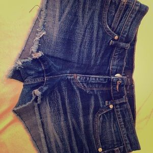 Cute Juicy couture jean shorts to sell